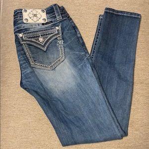 Miss Me Buckle Skinny Jeans